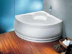 Ванни акрилові кутові асиметричні
