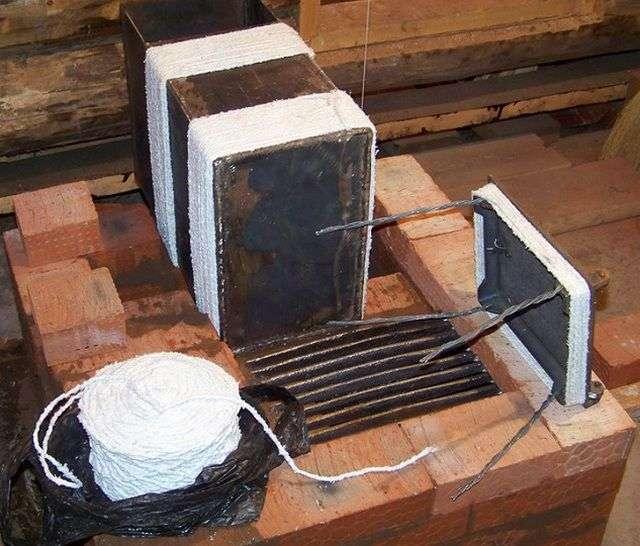 Піч для будинку з цегли своїми руками