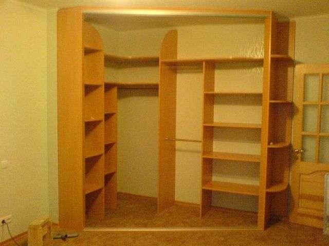Як зробити вбудовані меблі