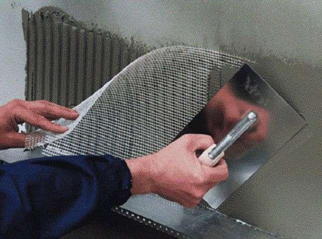 Сітка для штукатурки стін