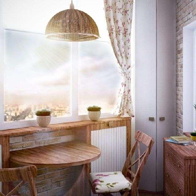 Балкон в стилі прованс