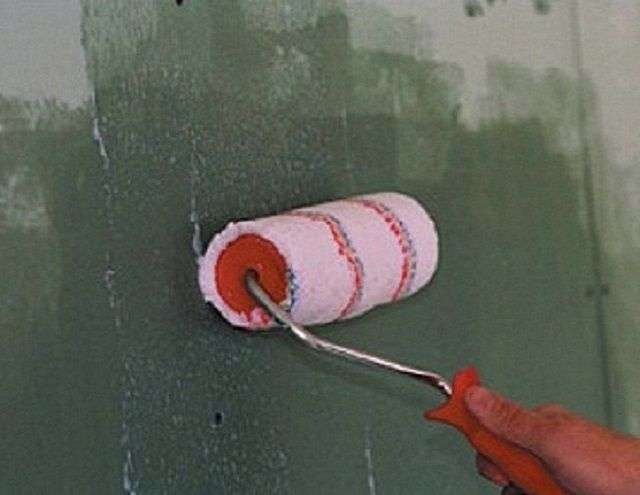 Грунтовка для стін під шпалери