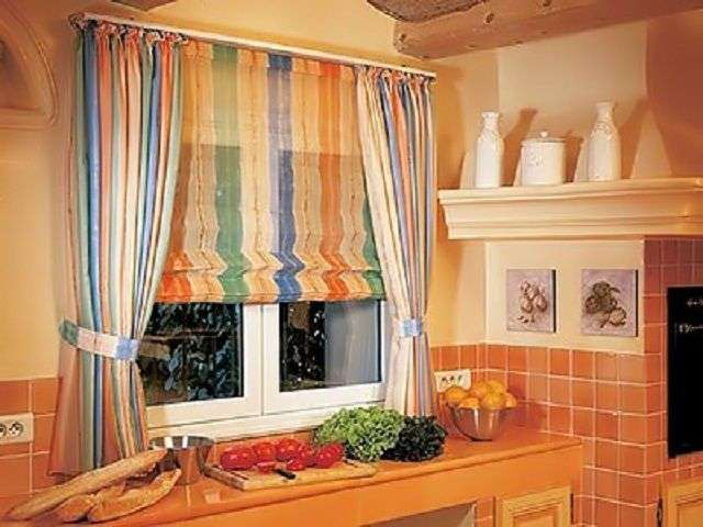 Жалюзі на вікна з тканини