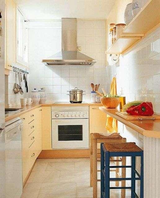 Кутові кухні для маленької кухні