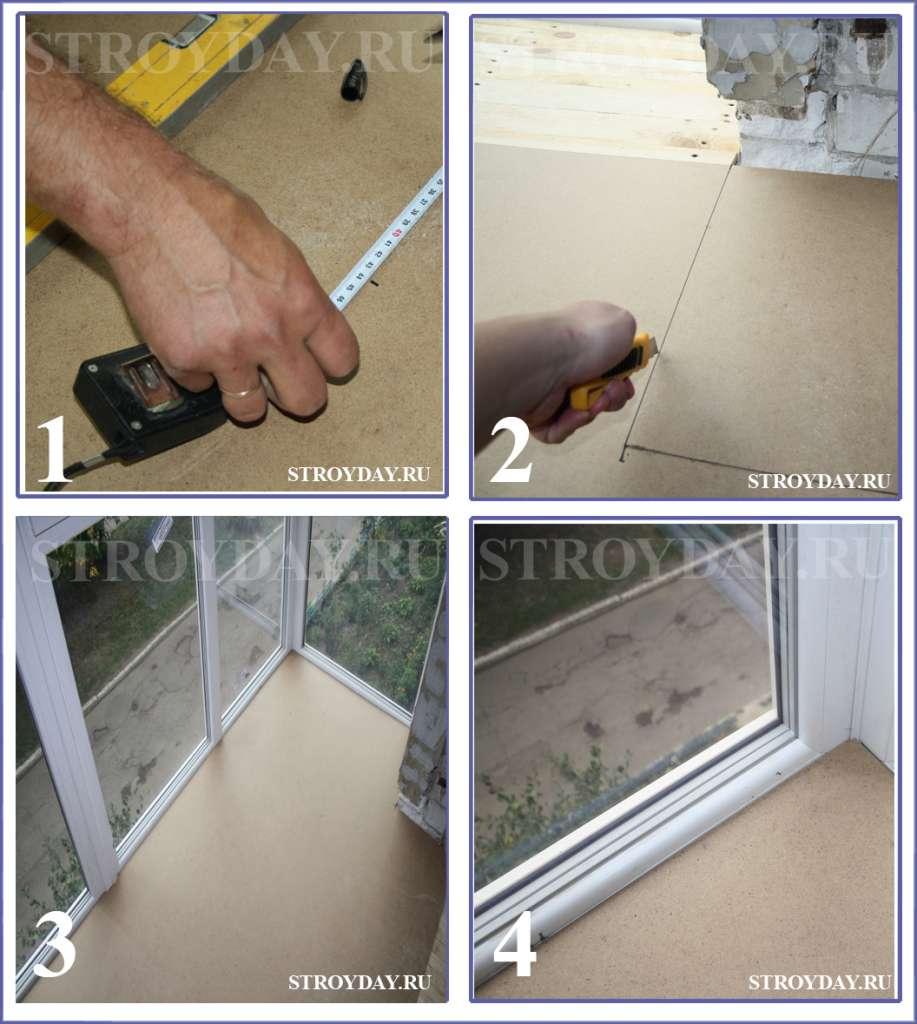 Підлога на балконі своїми руками — покрокова інструкція монтажу та утеплення