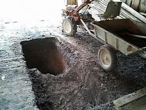 Оглядова яма в гаражі своїми руками