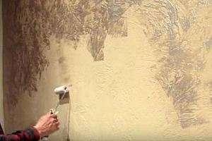 Декоративна штукатурка стін своїми руками