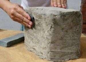 Як зробити штучний камінь своїми руками в домашніх умовах