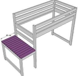 Як зробити двохярусне ліжко своїми руками