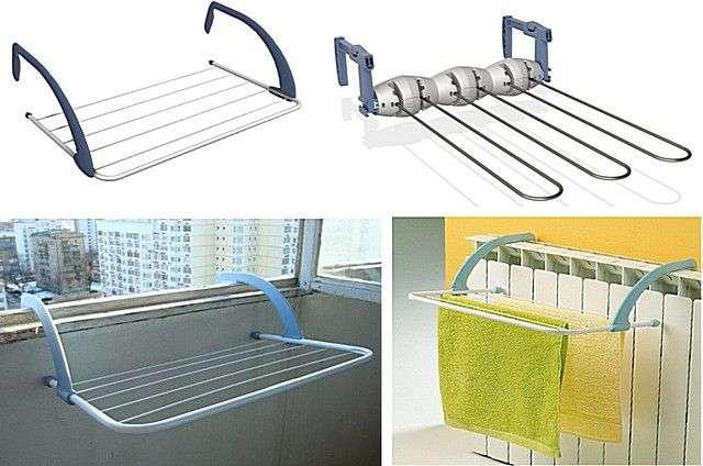 Стельова сушарка для білизни на балкон