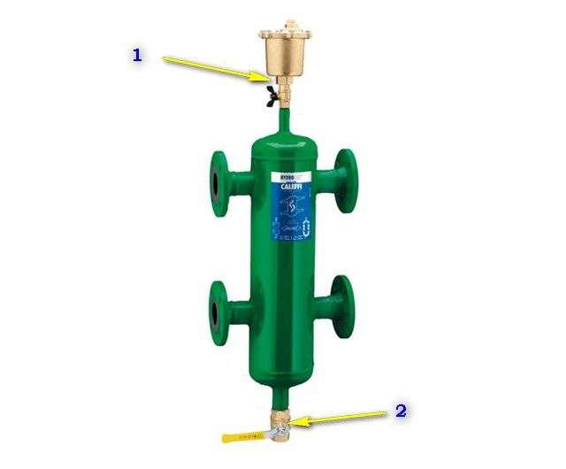 Гидрострелка для опалення