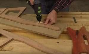 Як зробити стілець своїми руками