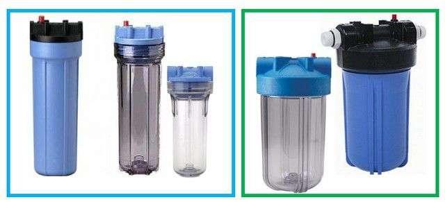 Фільтри грубої і тонкої очистки води