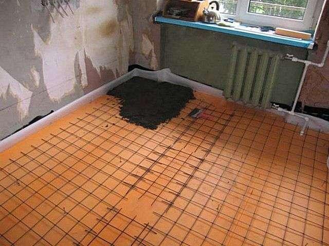Ремонт підлоги в квартирі своїми руками поетапно