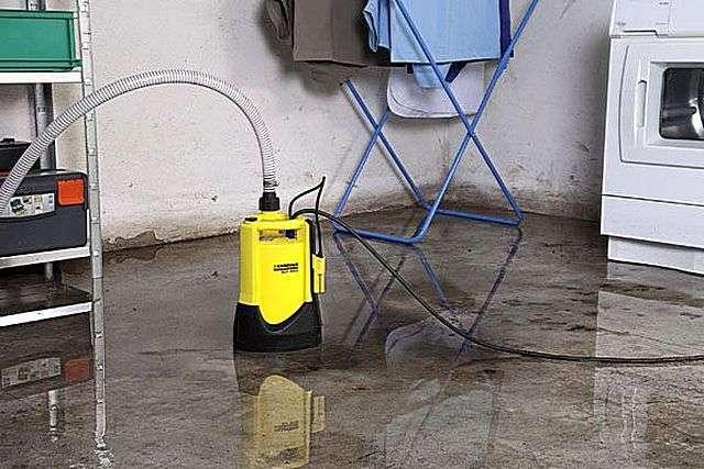 Дренажний насос з поплавковим вимикачем