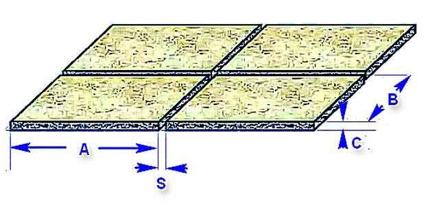Калькулятор розрахунку кількості клею для керамічної плитки