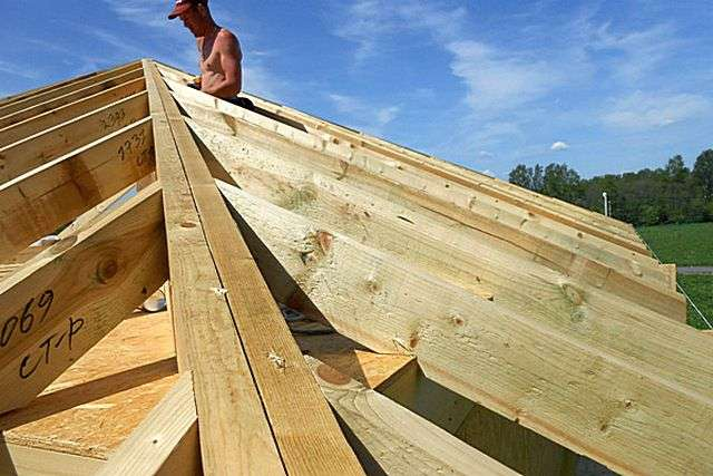 Кроквяна система шатрового даху