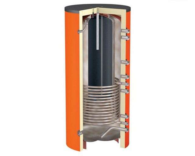 Теплоакумулятор для котлів опалення