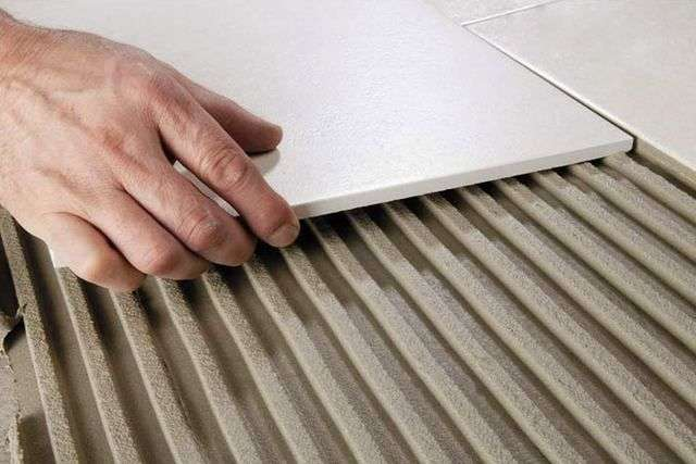 Укладання керамічної плитки своїми руками